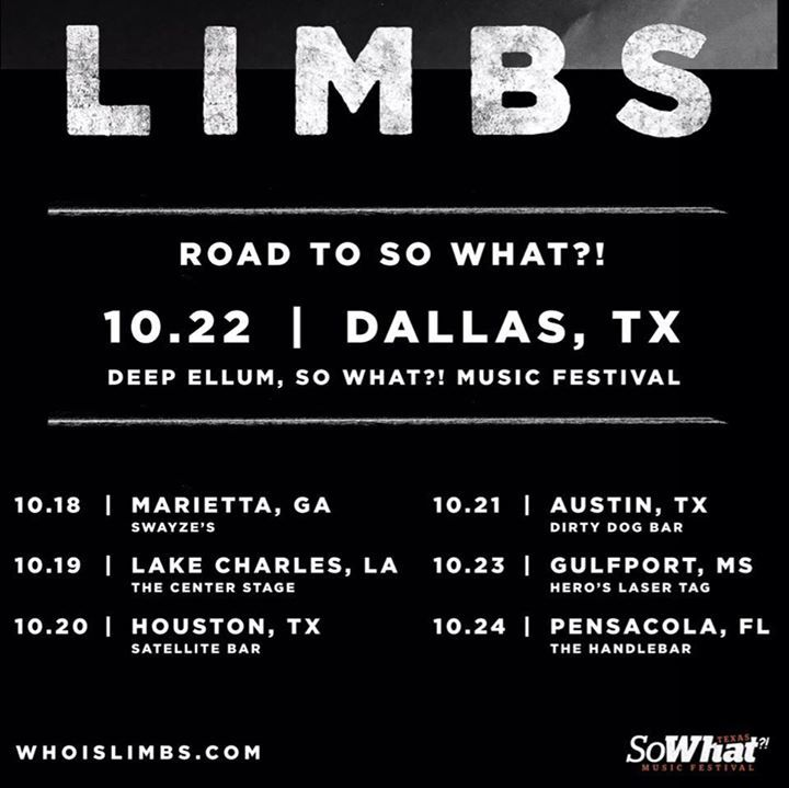 LIMBS Tour Dates