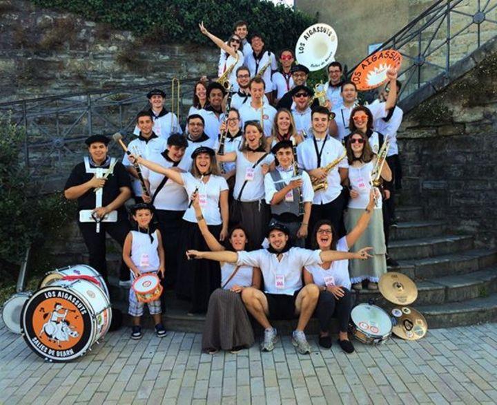 Banda Los Aigassuts @ La Blonde - Sauveterre-De-Bearn, France
