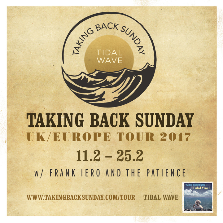 Taking Back Sunday @ TivoliVredenburg - Utrecht, Netherlands