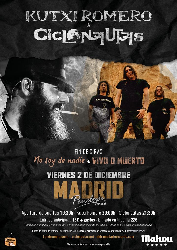 Ciclonautas.net @ Sala Penélope - Madrid, Spain