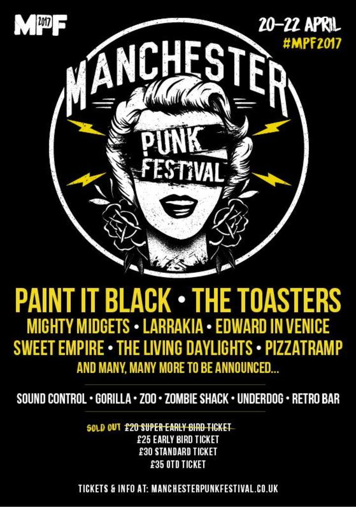 Paint It Black @ Sound Control - Manchester, United Kingdom
