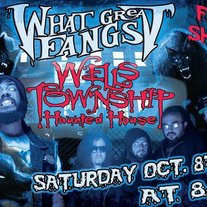 What Great Fangs Tour Dates