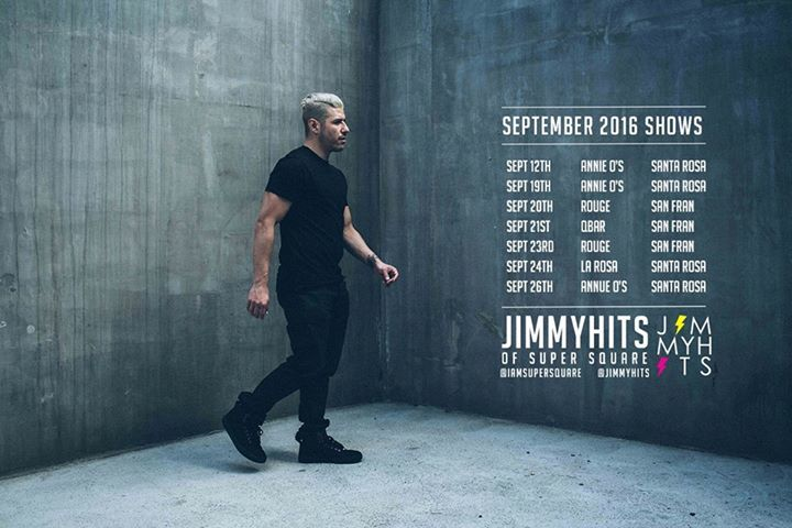 Jimmy Hits Tour Dates
