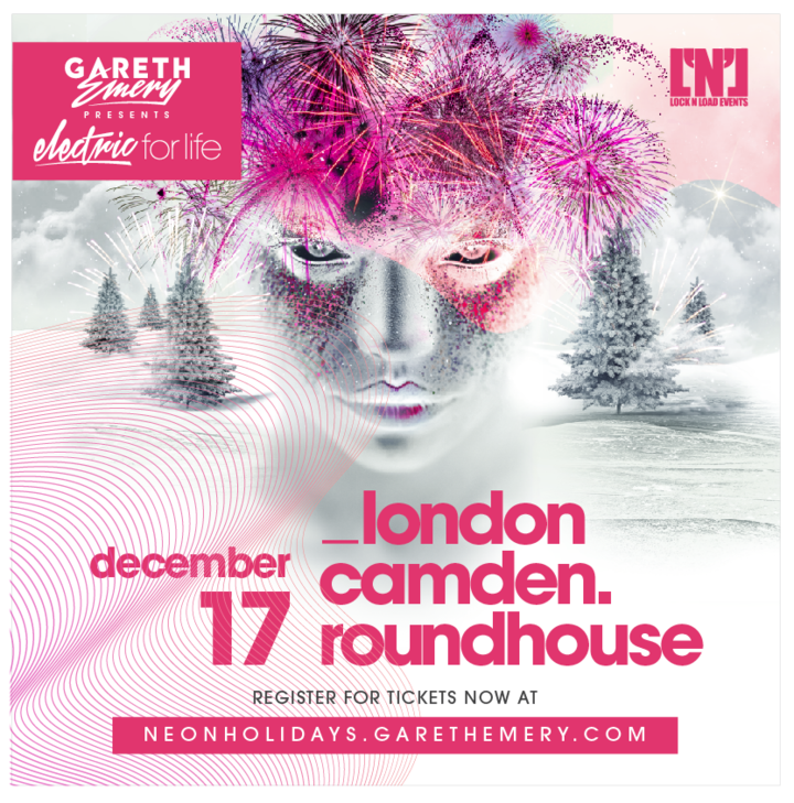 Gareth Emery @ The Camden Roundhouse - London, United Kingdom