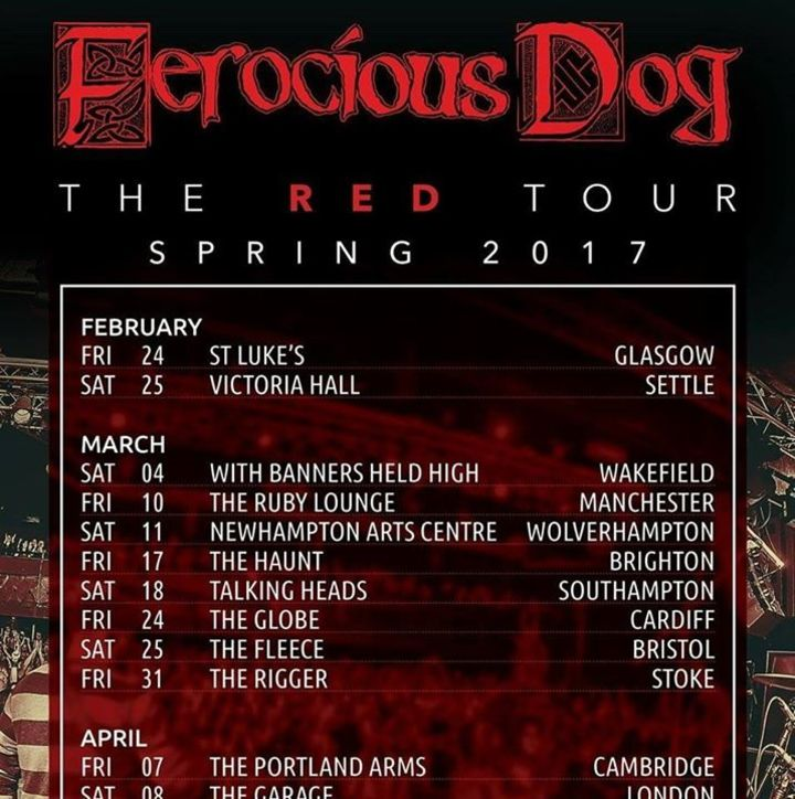 Ferocious Dog @ The Rigger - Newcastle-Under-Lyme, United Kingdom