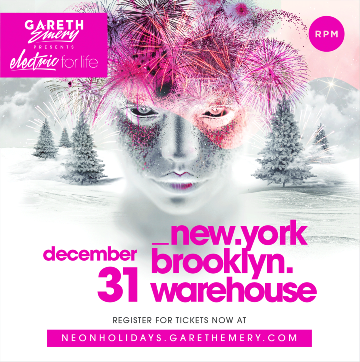 Gareth Emery @ The Brooklyn Hangar - Brooklyn, NY