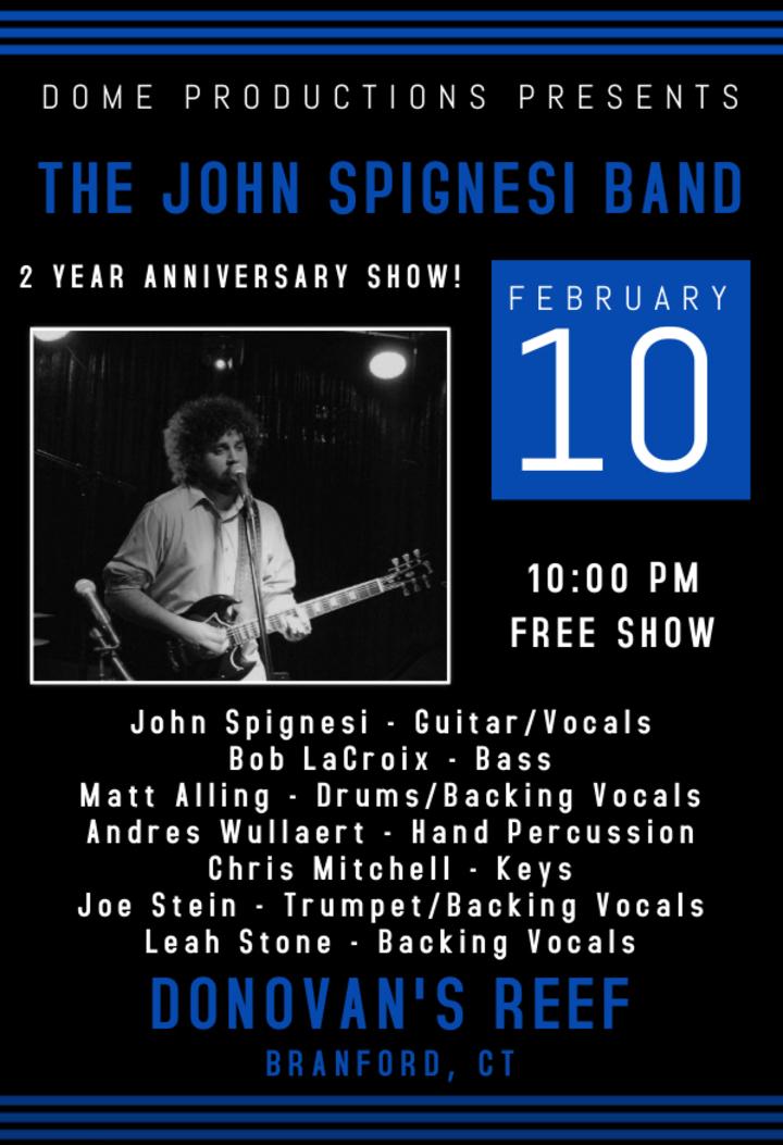 John Spignesi Band - JSB @ Donovan's Reef - Branford, CT