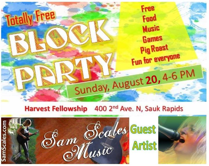 Sam Scales Music @ Harvest Fellowship Church - Sauk Rapids, MN
