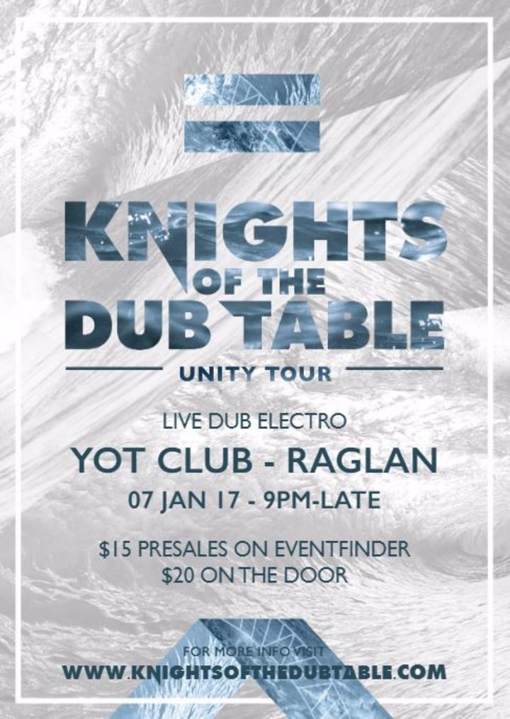 Knights of the DUB Table @ Yot Club - Raglan, New Zealand