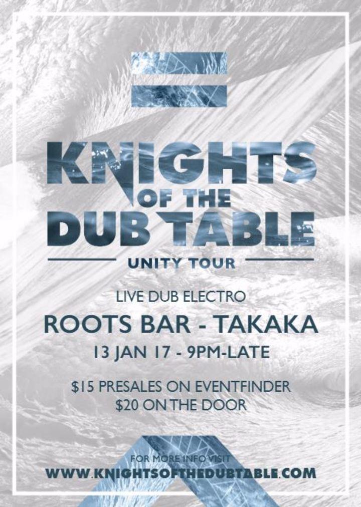 Knights of the DUB Table @ Roots Bar - Takaka, New Zealand