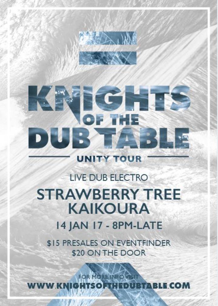 Knights of the DUB Table @ Strawberry Tree - Kaikoura, New Zealand
