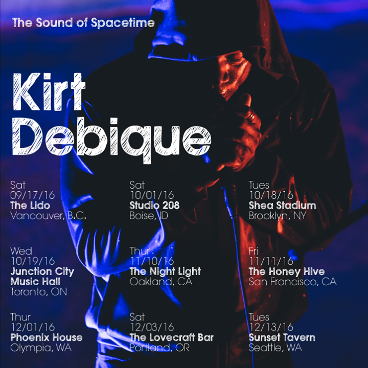 Kirt Debique Tour Dates