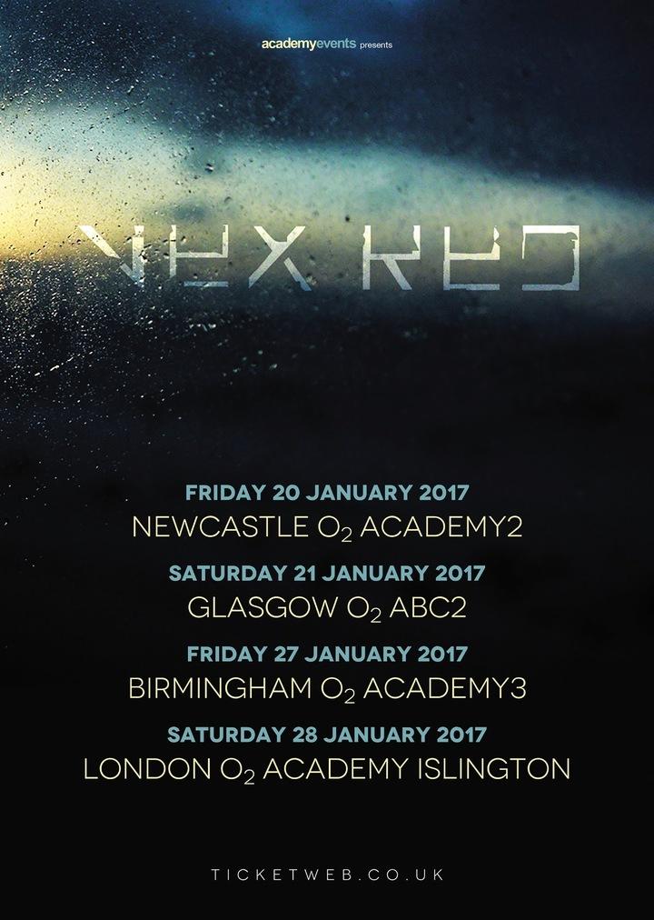 Vex Red @ London O2 Academy Islington - London, United Kingdom