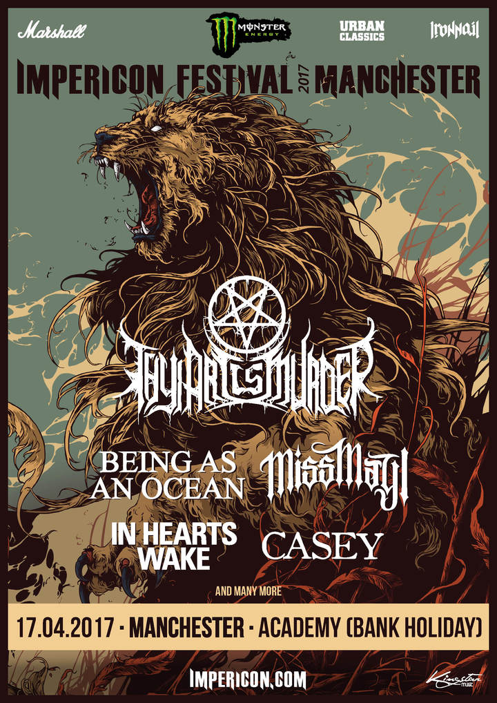 Impericon Festival @ Manchester Academy - Manchester, United Kingdom