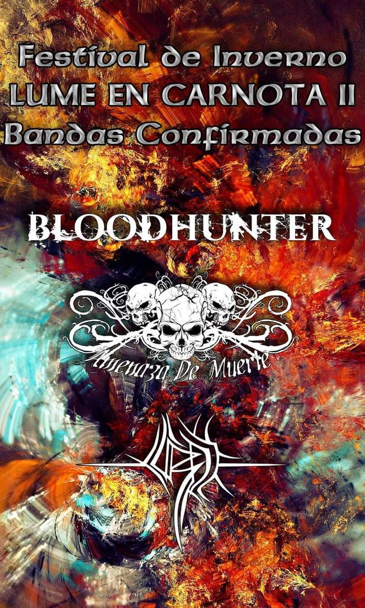 BLOODHUNTER @ Lume en Carnota - Carnota, Spain