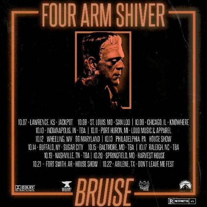 Four Arm Shiver Tour Dates