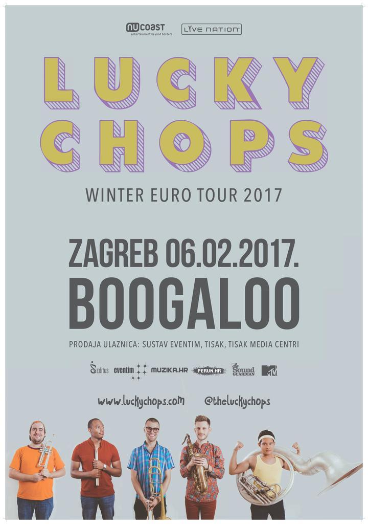 Lucky Chops @ Boogaloo - Zagreb, Croatia
