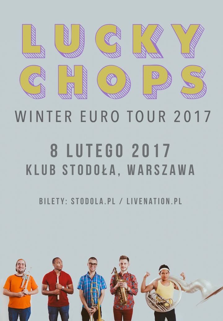 Lucky Chops @ Stodola - Warsaw, Poland