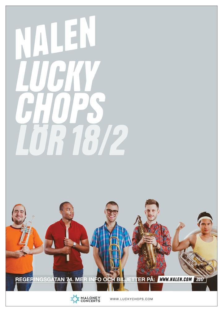 Lucky Chops @ Nalen - Stockholm, Sweden