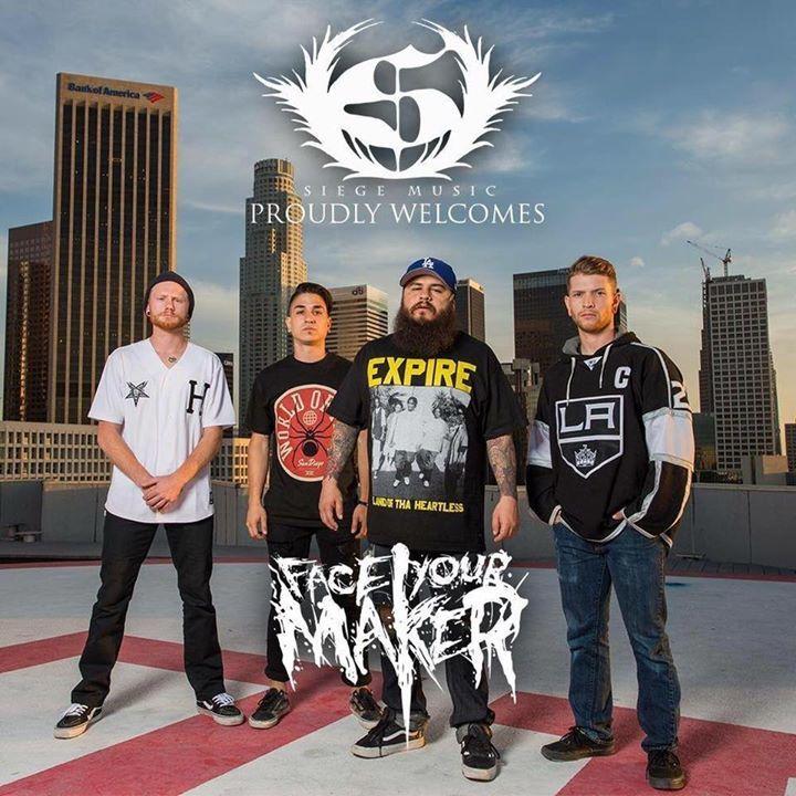 Face Your Maker Tour Dates