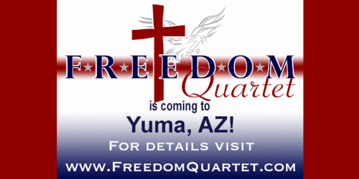 Freedom Quartet @ Sun Vista RV Resort - Yuma, AZ