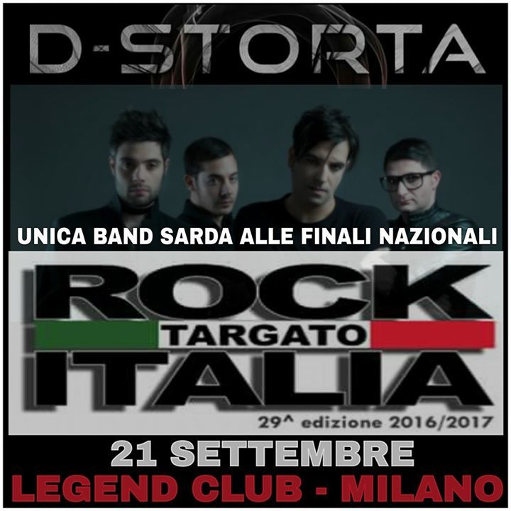 D-Storta Official Tour Dates