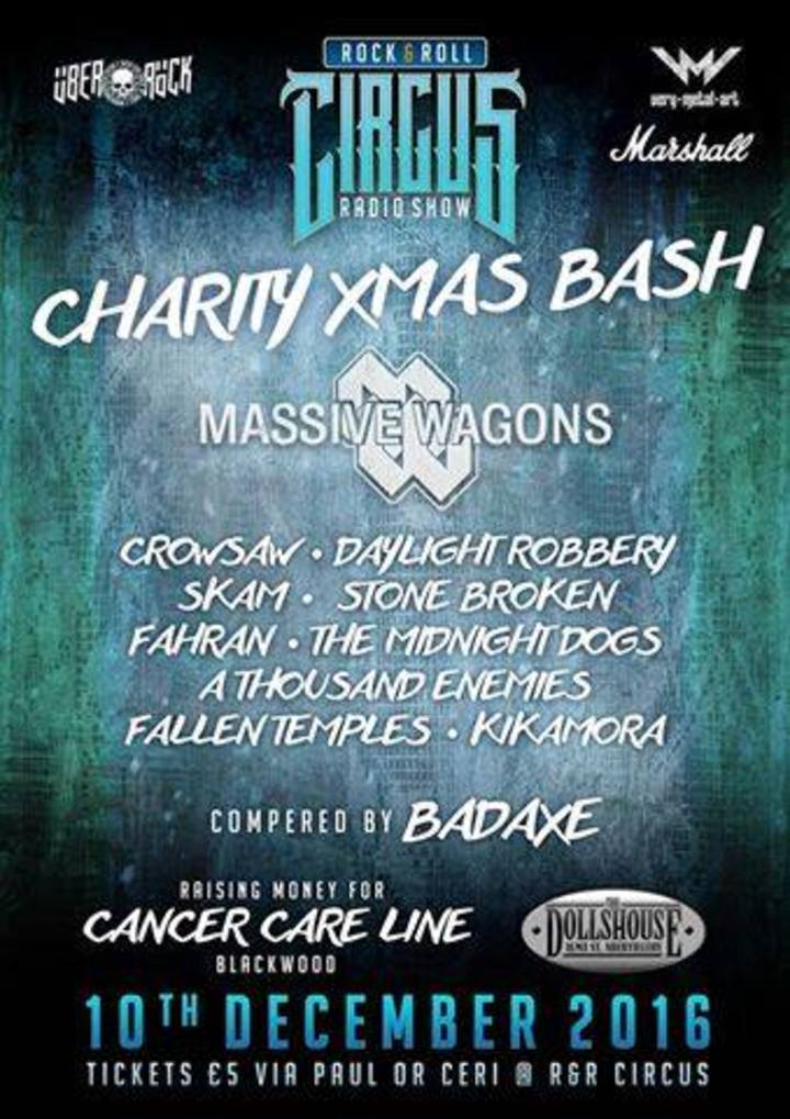 Massive Wagons @ The Dolls House - Abertillery, United Kingdom