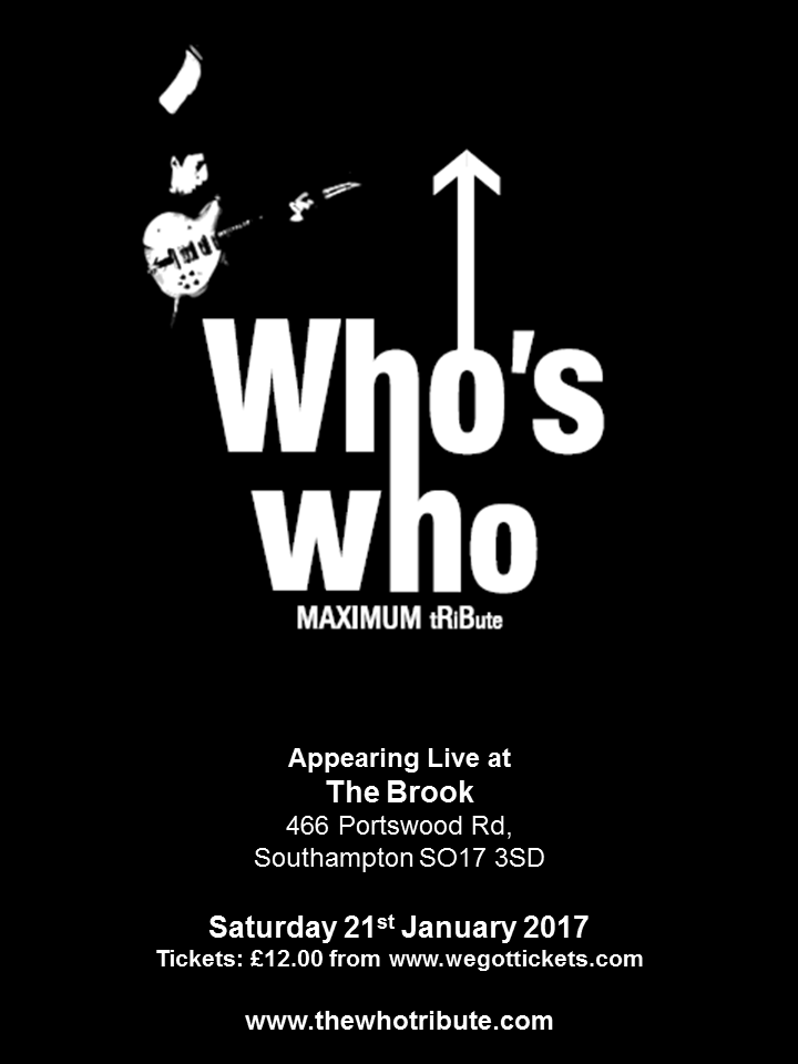 Who's Who @ The Brook - Southampton, United Kingdom