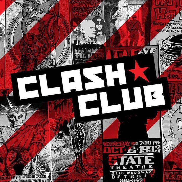 CLASH CLUB Tour Dates