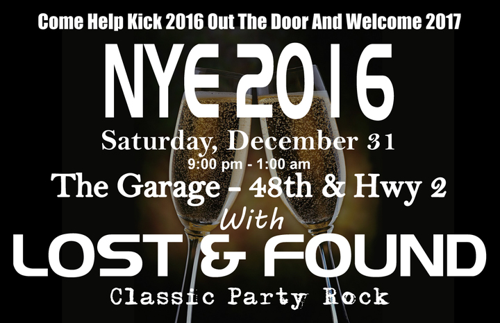 Lost & Found - Classic Party Rock @ The Garage - Lincoln, NE
