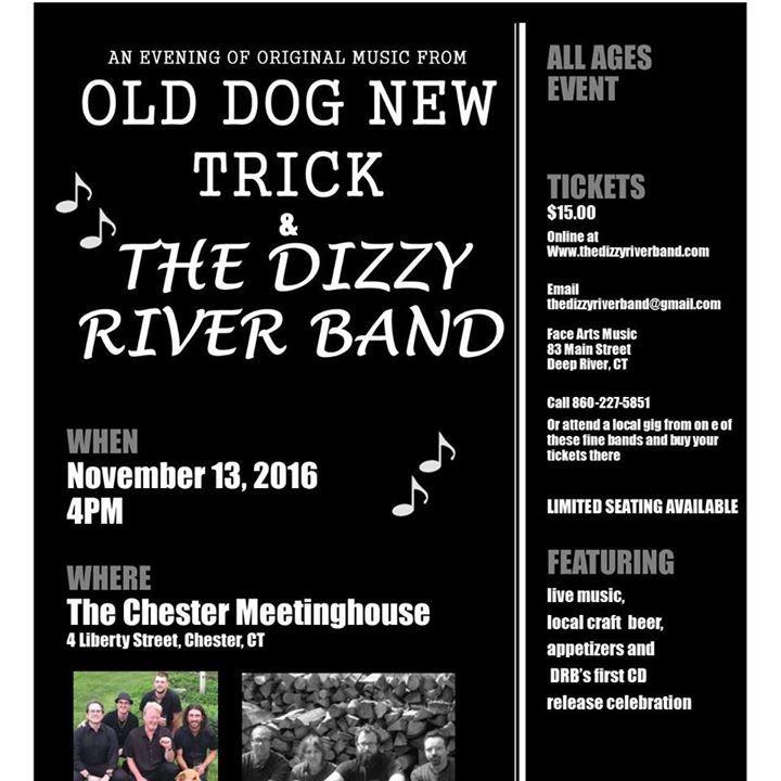 The Dizzy River Band Tour Dates