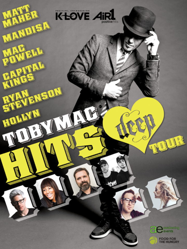 tobyMac @ Petersen Events Center - Pittsburgh, PA