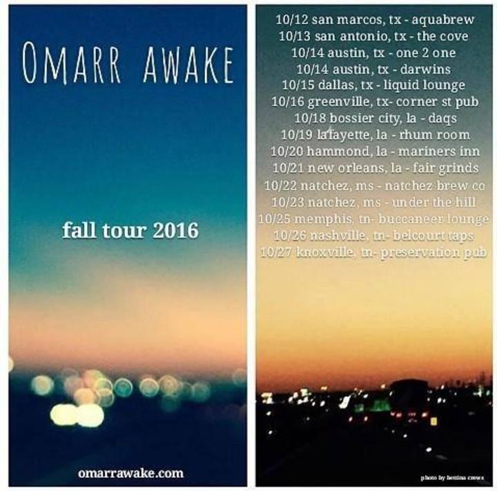 Omarr Awake Tour Dates