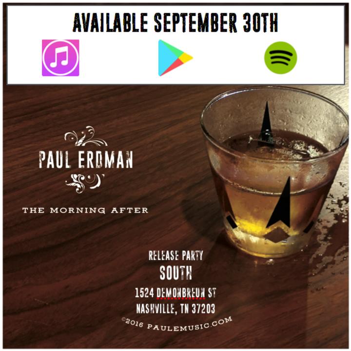 Paul Erdman and the Tracks Tour Dates