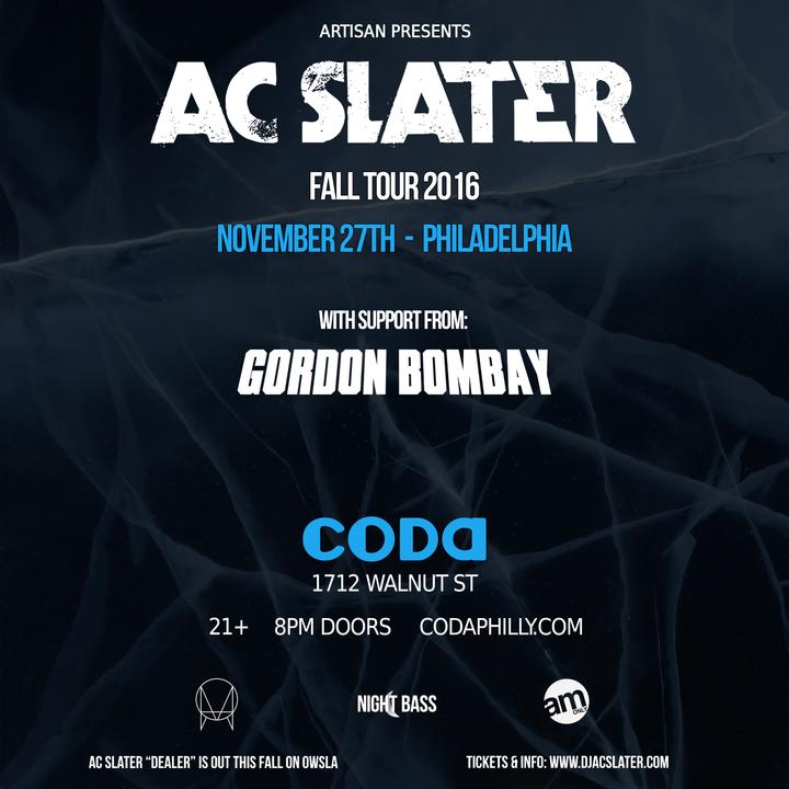 Gordon Bombay @ Coda - Philadelphia, PA