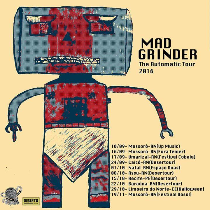 Mad Grinder Tour Dates