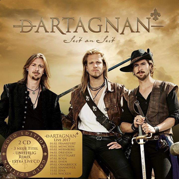 Dartagnan Tour Dates