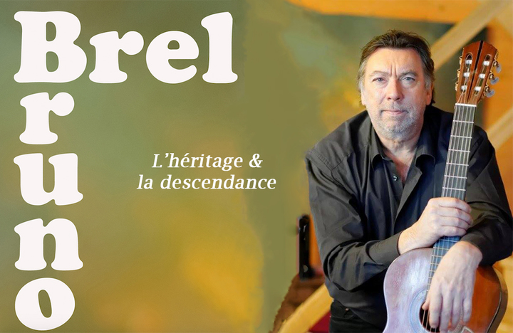 Bruno Brel @ Concert au Centre Culturel  - Ukkel, Belgium