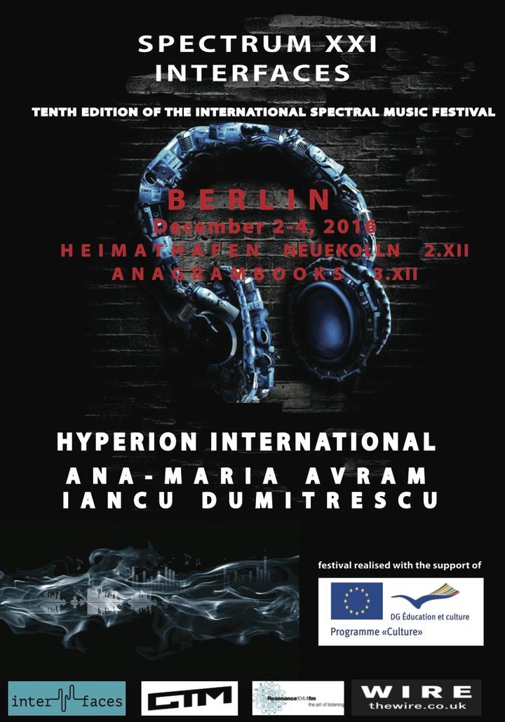 Spectrum XXI - Interfaces @ Heimathafen - Berlin, Germany