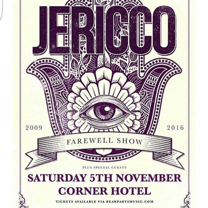 Jericco Tour Dates
