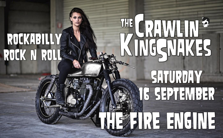 The Crawlin' Kingsnakes @ The Fire Engine - Bristol, United Kingdom