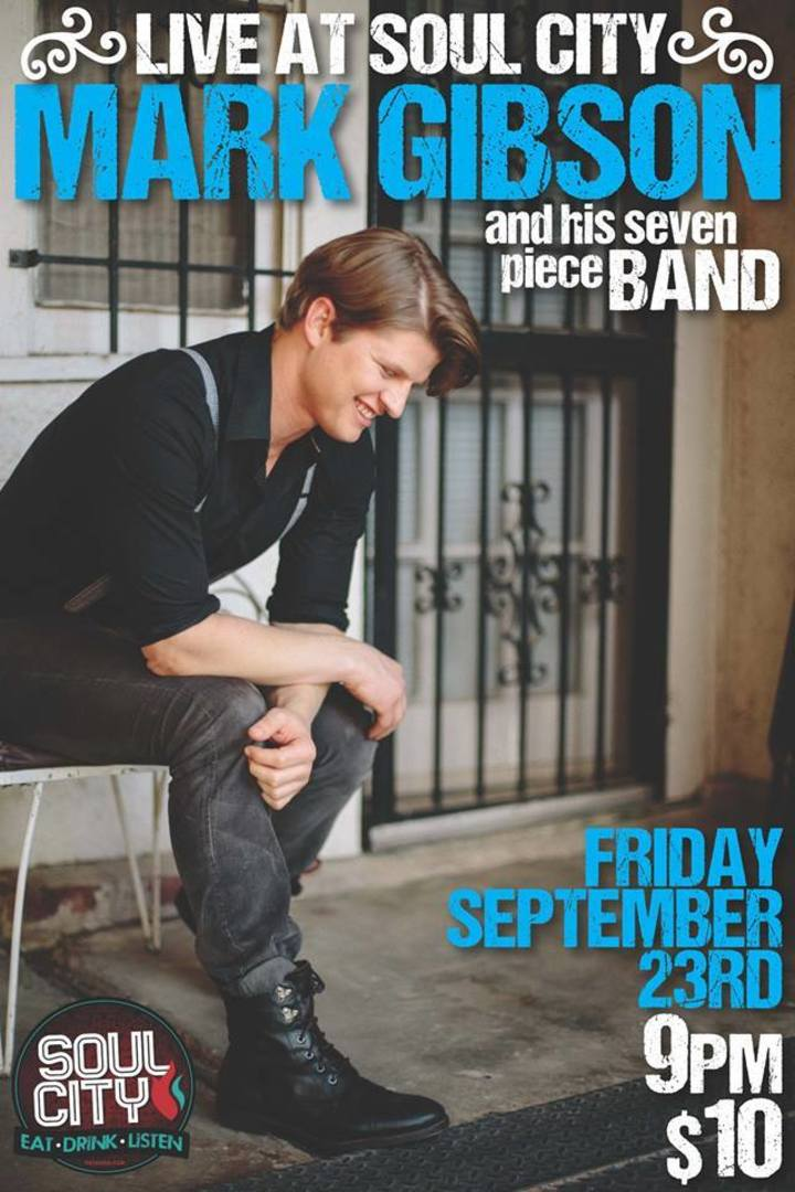 Mark Gibson Music Tour Dates