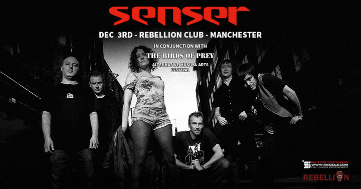 Senser @ Rebellion Club - Manchester, United Kingdom