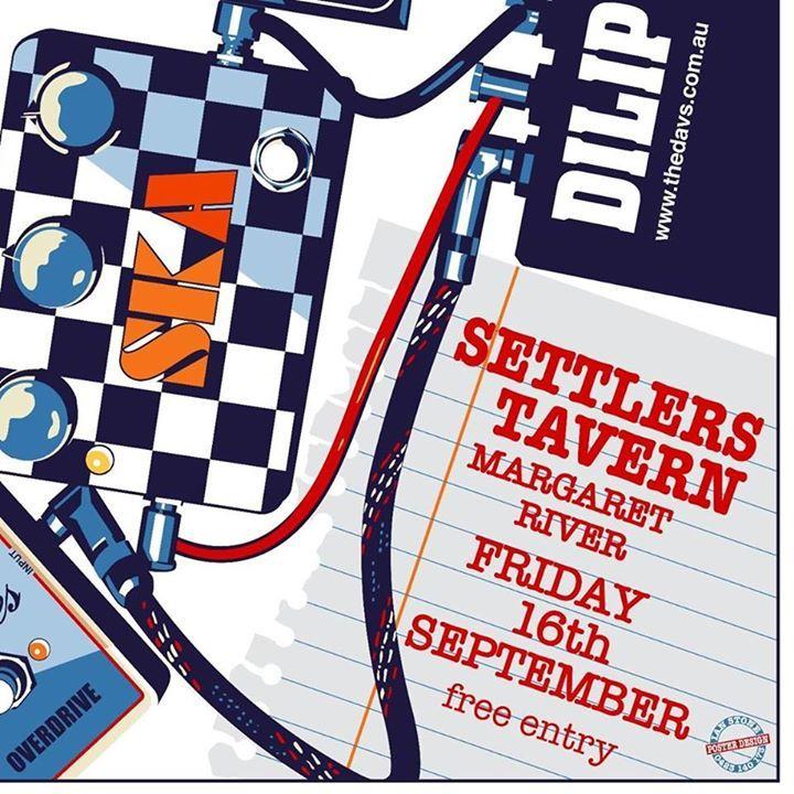 Dilip 'n the Davs Tour Dates