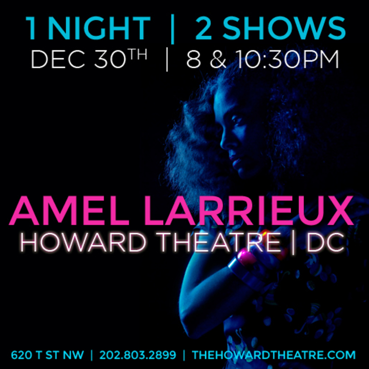 Amel Larrieux @ Howard Theatre - Washington, DC