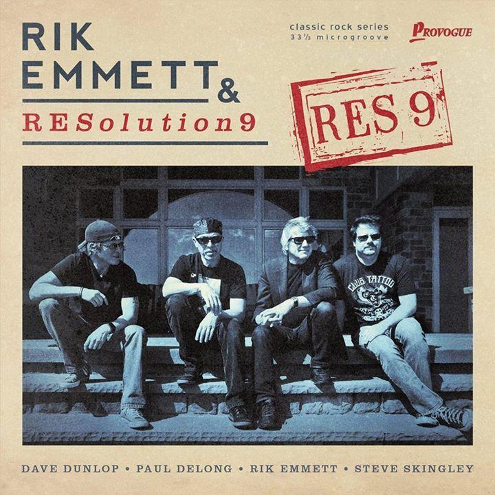 Rik Emmett Tour Dates