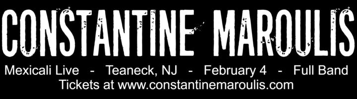 Constantine Maroulis @ Mexicali Live - Teaneck, NJ
