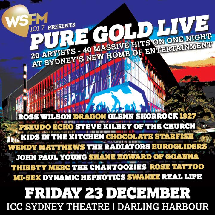 Glenn Shorrock @ Pure Gold Live (Sydney) - Sydney, Australia