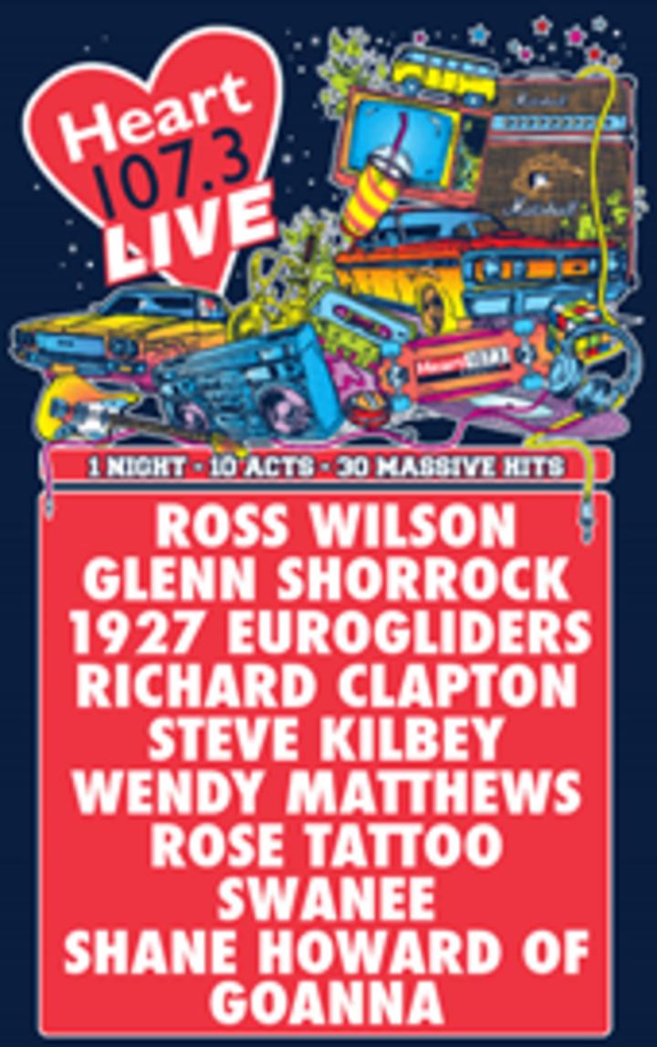 Glenn Shorrock @ HEART 107.3 Live (Hobart) - Hobart, Australia