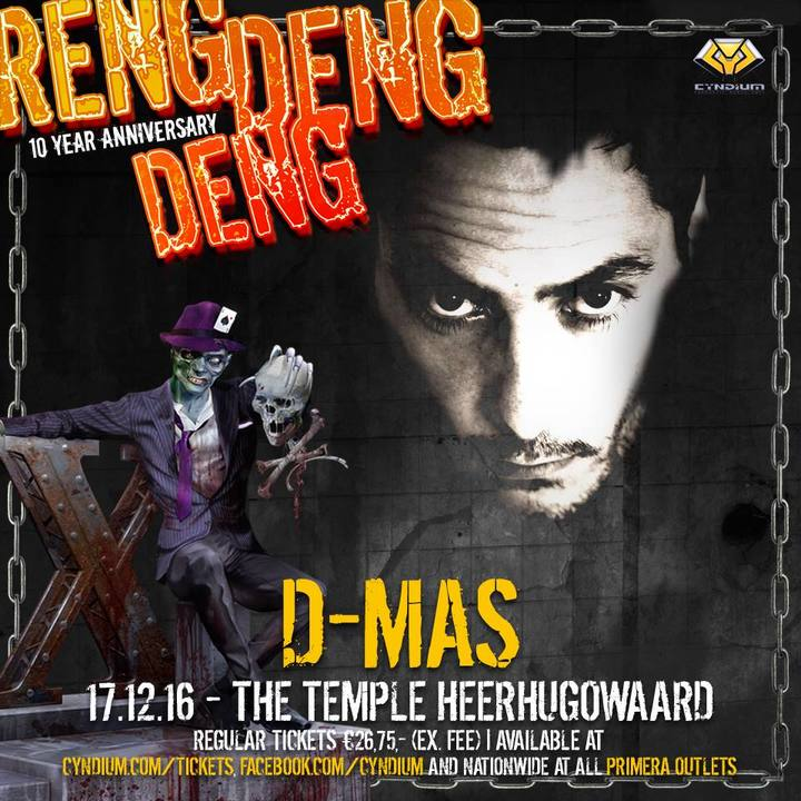 D-Mas Imperials @ The Temple Restaurant - Heerhugowaard, Netherlands